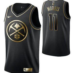 Men's Denver Nuggets #11 Monte Morris Jersey